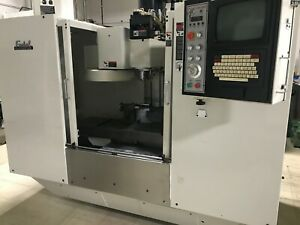 1997 Fadal Vmc 3016ht Cnc Machining Center 4 Axis Rotary Table