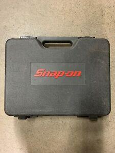 Snap On Tools Cordless Screwdriver Case Hard Plastic Empty Case Only Cts561cl