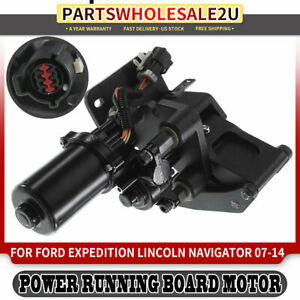 Right Power Running Board Motor W Bracket For Ford Expedition Lincoln Navigator
