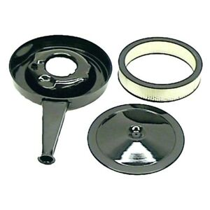 For Chevy Camaro 69 72 Goodmark Cowl Induction Air Cleaner Assembly W Black Lid