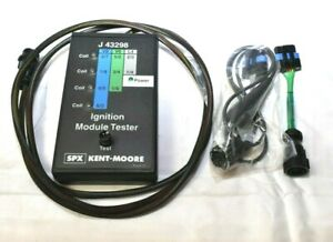 Kent Moore Ignition Module Tester J 43298 2 Adapters Gm Dealership Nos