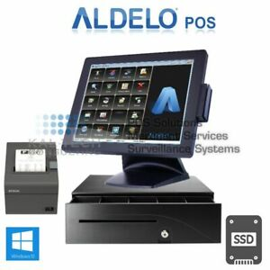 Aldelo Pro Bar Grill Restaurant All in one Complete Pos System Bundle New