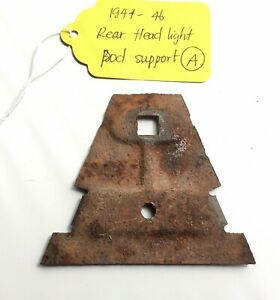 Used Original Rear Headlight Pod Support For 1941 46 Chevy Truck A