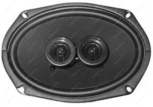 1953 60 Chevy Car Dash Speaker Replaces Original Exact Fit For Stereo Radio