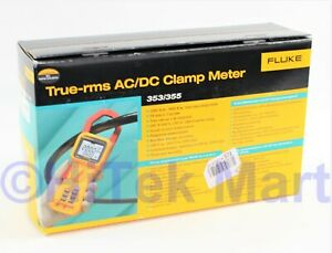 Fluke 355 True Rms Clamp meter 2 000a Ac dcvoltage New In Box