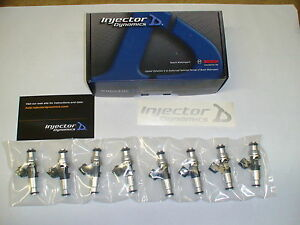 2020 Shelby Gt500 Injector Dynamics Id1300x Fuel Injectors 5 2 Supercharged E85
