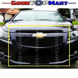 For 2011 12 13 14 Chevy Cruze Ltz Rs Black Billet Grille Grill Inserts Combo Bol