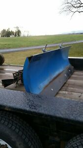 Curtis 6 Power Angle Plow For Ford Nh Loader