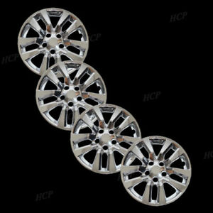 New Wheel Covers Hubcaps Fits 2013 2018 Nissan Altima 16 Chrome Plated Set Of 4