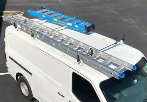 Heavy Duty 3 Bar Ladder Roof Rack Fits Nissan Nv Standard Cargo Vans All Models
