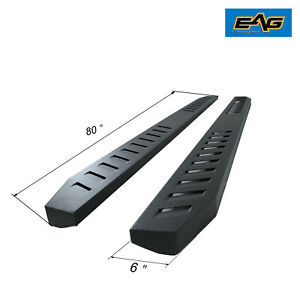 Eag Fit 07 17 Toyota Tundra Double Cab Steel 80 Running Boards Brackets