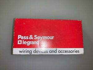 Pass Seymour Legrand Single Pole Switch Ps20c w Box Of 10