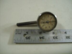 L S Starrett Dial Indicator 196 Back Plunger 001 Jeweled Made In Athol Mass