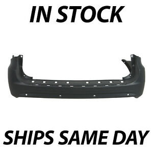 New Primered Rear Bumper Cover For 2011 2016 Chrysler Town Country W Park