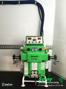 Ez 3000 Spray Foam Rig Spray Insulation Machine Equipment Trailer Package