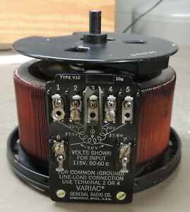 General Radio Variac V10 Variable Autotransformer Uncased 115vac Nice