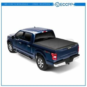 Soft Tri Fold For 2019 2020 Ford Ranger Tonneau Cover 5 Ft Short Bed Durable