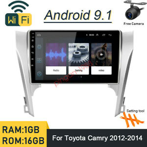 10 1 Android 9 1 Car Gps Navi Radio Player Stereo For Toyota Camry 2012 2014