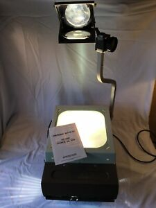 Elmo Hp l355 Overhead Transparency Projector Working Bulb Manual Glass Slides