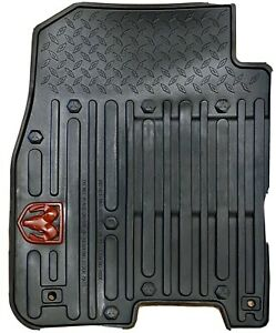 Dodge Ram W red Ram Logo Front Rear All Weather Floor Mats Mopar