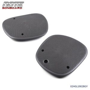 2pcs Front Speaker Grille Cover Fit For 98 05 Chevrolet Blazer S10 Sonoma Jimmy Fits Gmc Sonoma