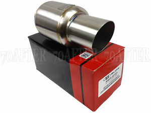 Blox Racing Mini Race Universal Exhaust Muffler 2 5 Inlet 3 Tip