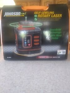 New Johnson Level And Tool 40 6543 Self leveling Rotary Laser Level Greenbrite