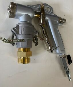 Texture Spray Gun With 4 Spray Nozzle And Adapter To Fit Rtx Gtx Material Hose