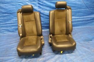 2004 Cadillac Cts v 5 7l V8 Ls6 Z06 Oem Leather suede Lh Rh Front Seats 1216