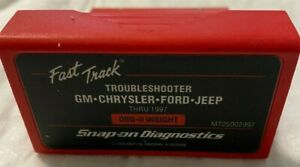 Snap On Mt25002997 Troubleshooter Thru 1997 Obd Ii Insight Cartridge