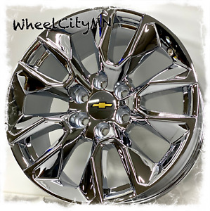 20 Inch Chrome 2021 Chevy Silverado Rst Oe Replica Wheels Tahoe Suburban 6x5 5