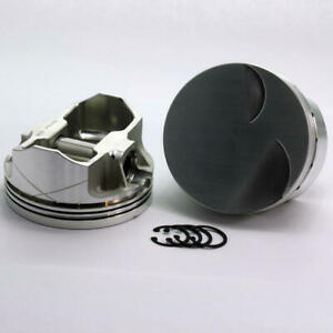 Dss Piston Set 1 3120 4040 4 040 Bore 3cc Flat Top For Ford 302 Stroker