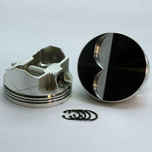 Dss Piston Set 2 3000 4040 4 040 Bore 4cc Flat Top For Ford 302 Stroker