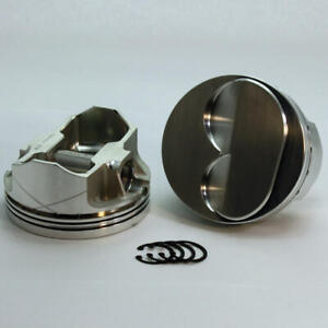 Dss Piston Set 2 3168 4155 4 155 Bore 6cc Dome For Ford 302 Stroker Overbored