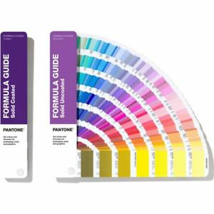 Pantone Formula Guides Solid Coated Uncoated Gp1601a color Reference Guide