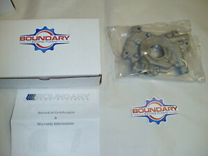 Boundary Racing Engine Oil Pump With Billet Gears 2007 14 Mustang Shelby Gt500