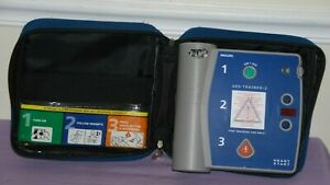 Philips m3752a Heartstart Aed Defibrillator Trainer 2 Unit Great Condition