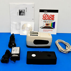 X rite Sp60 Portable Sphere Spectrophotometer Lab Values 4 Print Fabric Physical