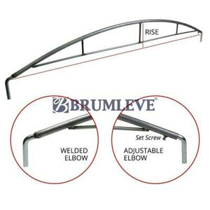 Brumleve Reinforced Steel Tarp Bow With Elbows 84 100 Inch X 12 Inch Rise