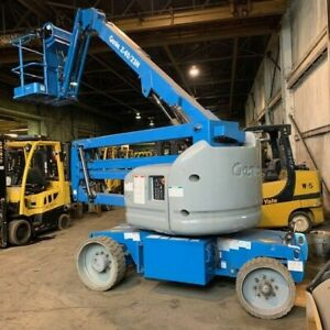 2014 Genie Z 40 23n Used Articulating Boom Lift With 151 Hours Great Condition