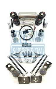 Fits 1955 1970 Ford Fairlane Car Air Ride Suspension Lowering System Kit