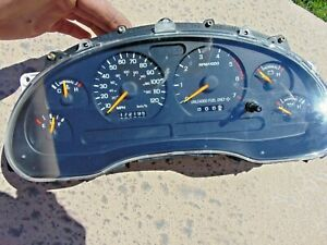 1998 Only Ford Mustang V6 Gauge Cluster 120 Mph Sn95 172196k New Gears Installed