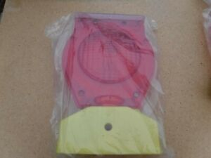 New Red Solar Master Powered 8 Barricade Light Type A C Hazard Dual Function