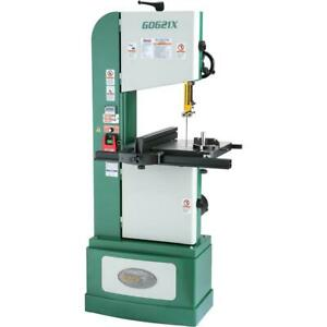 Grizzly G0621x 13 1 2 1 1 4 Hp 3 phase Vertical Wood metal Bandsaw