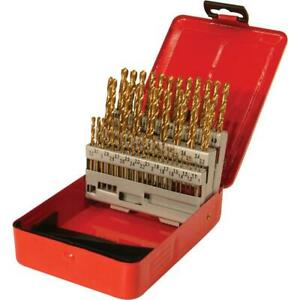 Grizzly G9753 Tin Coated Drill Set 50 Pc Metric