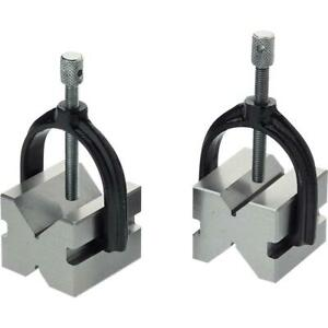 Grizzly H5609 V block Pair W Clamps 1 3 4