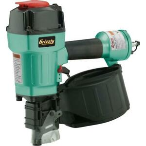 Grizzly H8231 1 3 4 2 3 4 15 Degree Coil Nailer