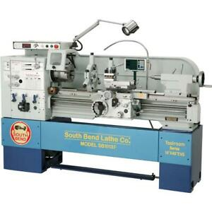 South Bend Sb1013f 14 X 40 Electronic Variable speed 440v Toolroom Lathe Wi