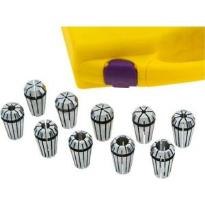 Grizzly T30600 Er16 Spring Collet 10 Pc Set