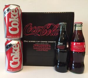 Stranger Things New Coke Coca Cola 1985 Limited Edition Collectors Can Bottle